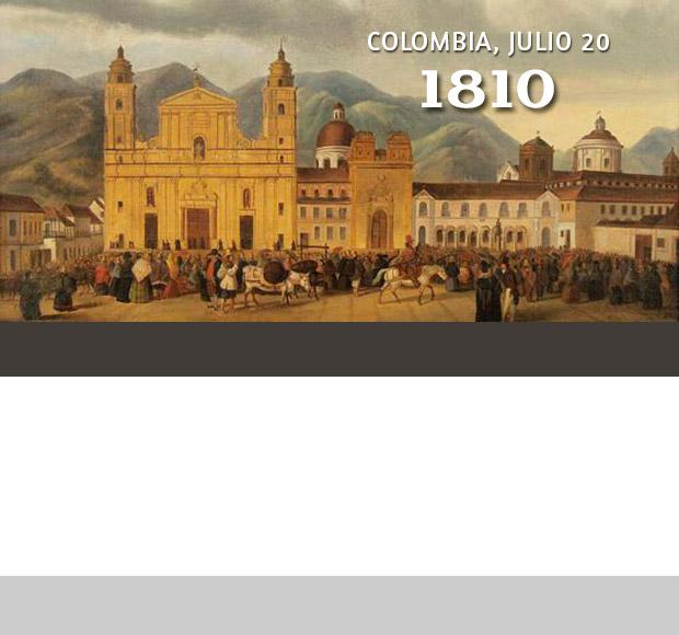 20 de julio de 1810 otra cara de la independencia edgar for Jardines 20 de julio bogota